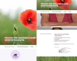 Webseite, Brand, Fotografien