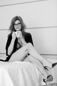 Boudoir Shoot. Iryna Mathes