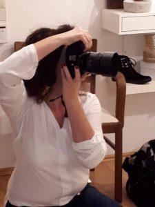 Iryna Mathes Fotografin bei der Arbeit
