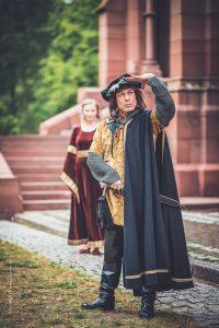Fotoshooting im mittelalterlichen Stil. Portrait Fotografie, Karlsruhe