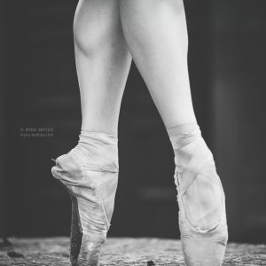 Ballerina feet. Dance in Karlsruhe. Iryna Mathes Fotografin