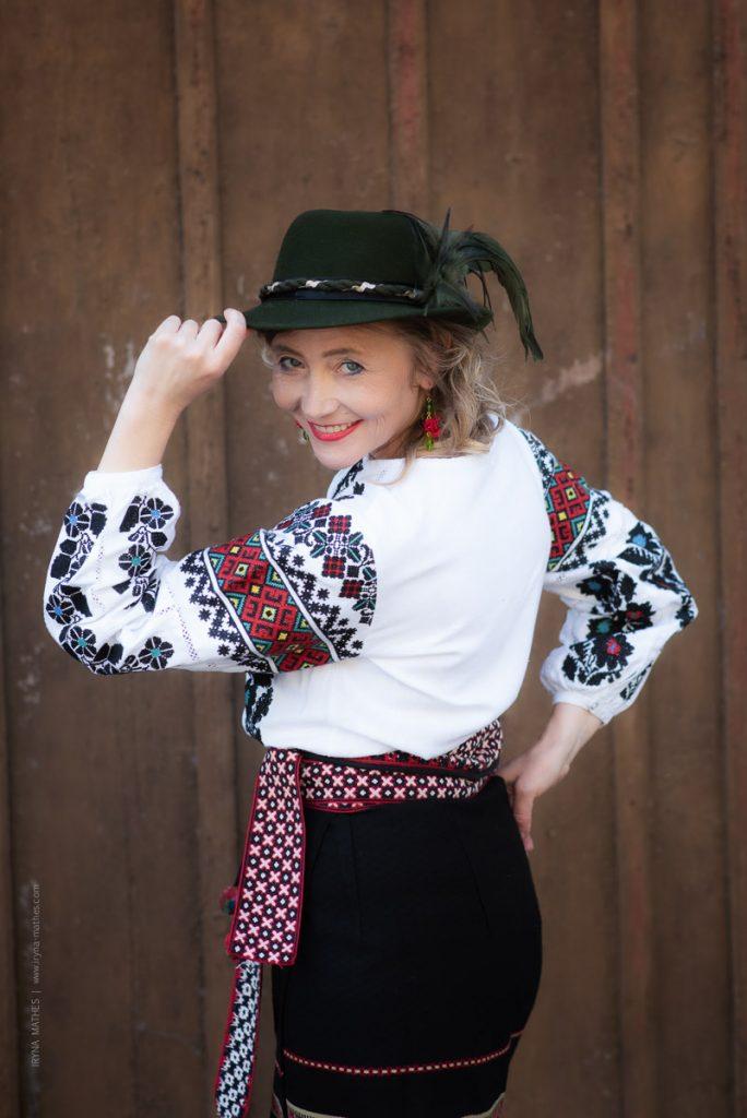 Sängerin Olena Serpen bei Iryna Mathes Fotografin. Video und Foto- Projekt.