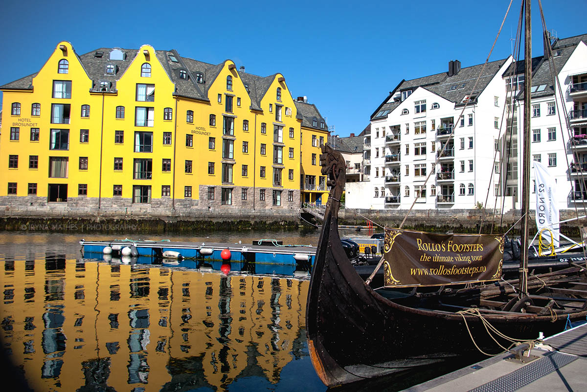 Travel photography Iryna Mathes. Ålesund, Norwegen