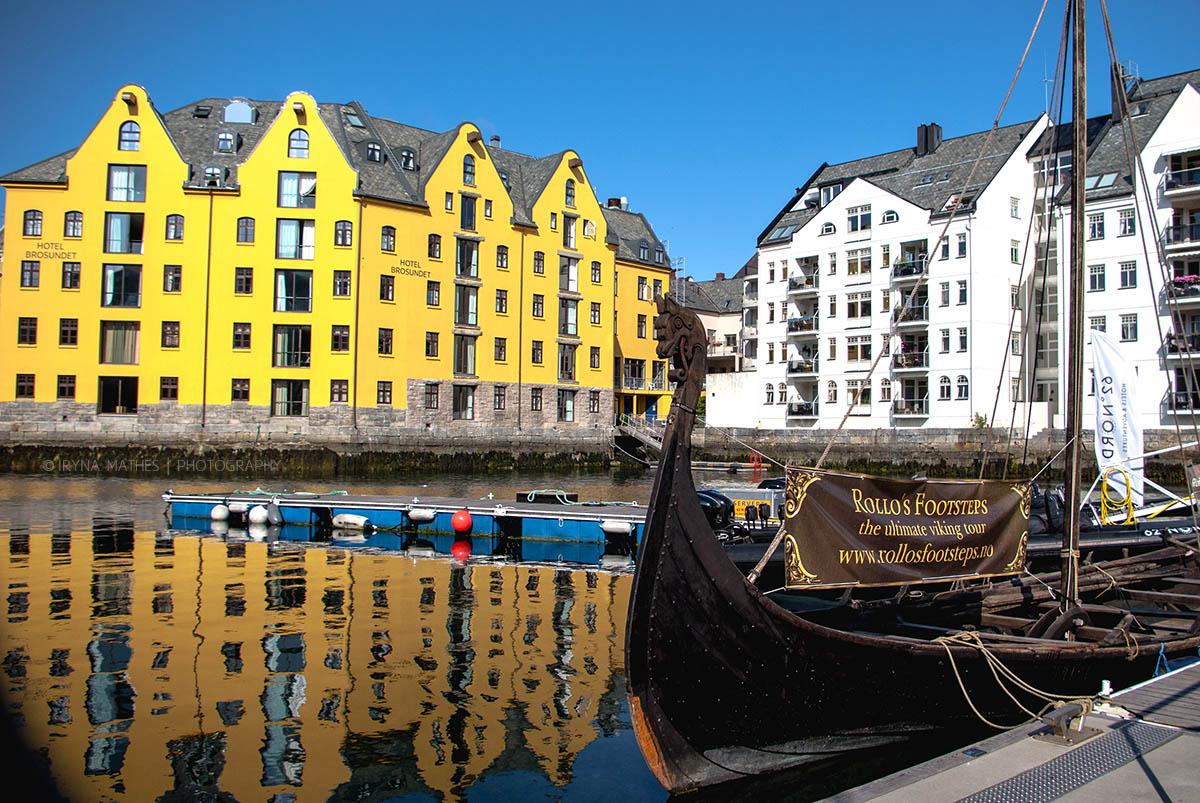 Travel photography Iryna Mathes. Ålesund, Norwegen