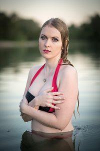 Wasser Portrait. Outdoor photography