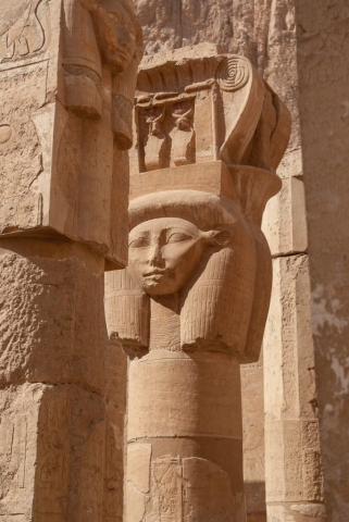 Egypt 2020, Hatschepsut Tempel. Travel photography