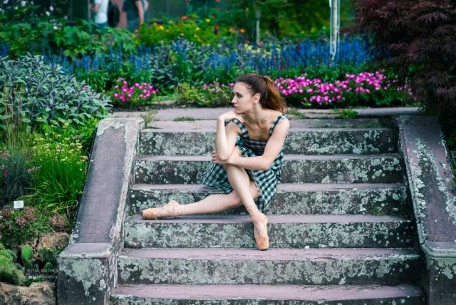 Ballerina. Dance in Karlsruhe. Iryna Mathes Fotografin