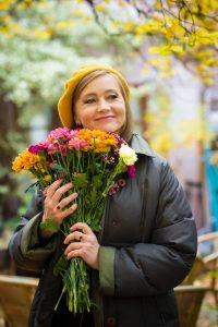 Herbst Portrait Olena Serpen, outdoor, Fotografie