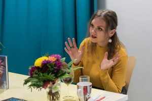 Reportage Buchpräsentation von Kseniya Fuchs in Ukrainischen Verein Ukrainer in Karlsruhe