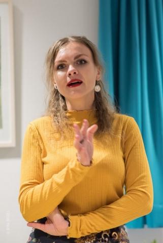 Reportage Buchpräsentation in Ukrainischen Verein Ukrainer in Karlsruhe