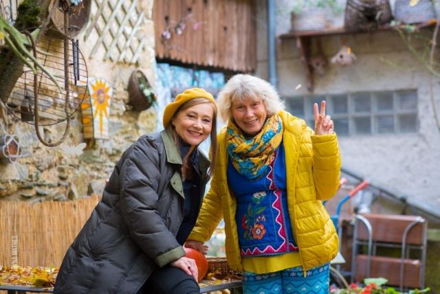 Etno-Fotosession mit der Sängerin und Autorin Olena Serpen im Ukrainischen Museum bei Iryna Denys, Kirn