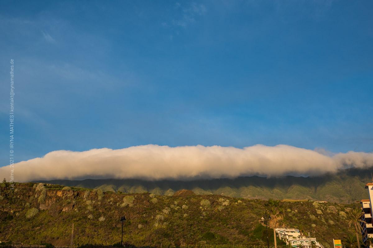 Wolke. Landschaft La Palma