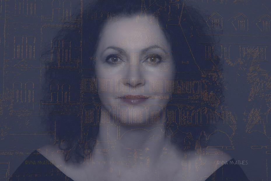 Art works, Portrait. Iryna Mathes