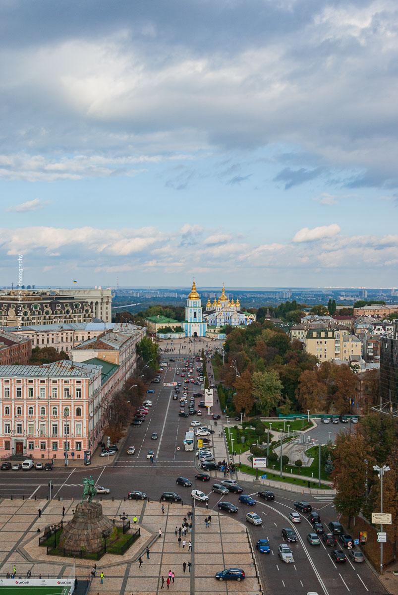 Ukraine, Kyiv, 2011. Archivfoto. Reisefotografie