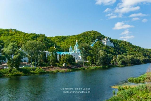 Ukraine, Kyiv, Swyatogorsky Kloster. 2013. Archivfoto. Reisefotografie